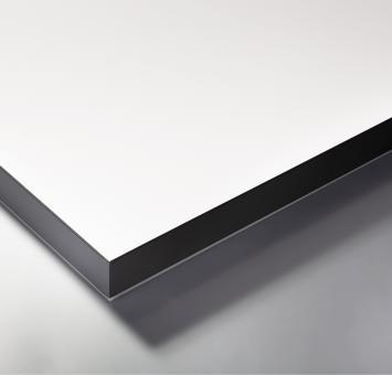 HPL Tabla de mesa, blanco