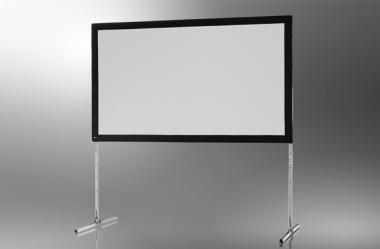celexon Faltrahmen Leinwand Mobil Expert, Frontprojektion 244 x 137 cm 244 x 137 cm