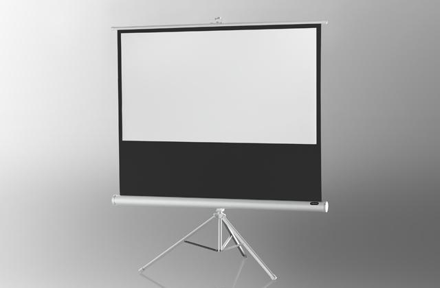 celexon pantalla de proyección trípode Básica 158 x 89 cm - Blanca 158 x 89 cm