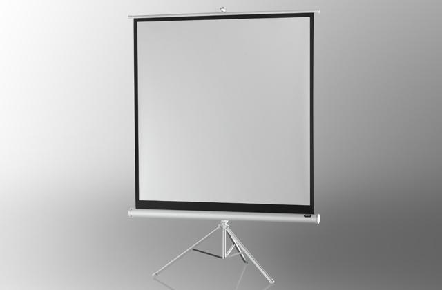Проекционный экран на штативе Economy – White Edition