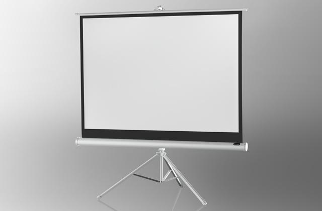 celexon pantalla de proyección trípode Básica 158 x 118 cm - Blanca 158 x 118 cm