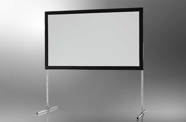 Ecran de projection sur cadre celexon Mobile Expert, Projection de face 305 x 172 cm 305 x 172 cm