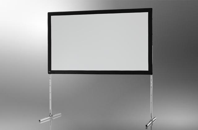 Ecran de projection sur cadre celexon Mobile Expert, Projection de face 203 x 127 cm 203 x 127 cm
