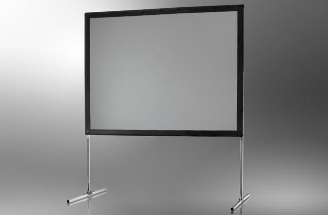 Ecran de projection sur cadre celexon Mobile Expert, Projection de face 305 x 229 cm 305 x 229 cm