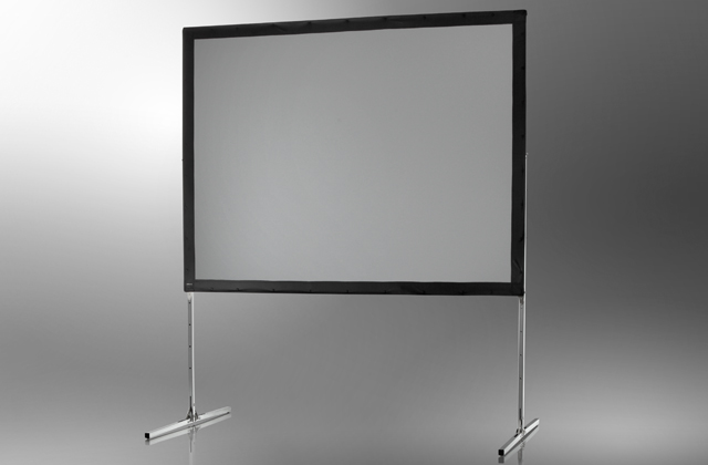 Ecran de projection sur cadre celexon Mobile Expert, Projection de face 366 x 274 cm 366 x 274 cm