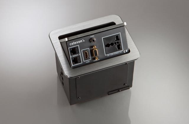 celexon Expert Tischanschlussfeld TA-100S INT silber INT