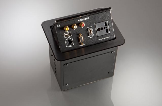 celexon Expert Tischanschlussfeld TA-200B INT schwarz INT