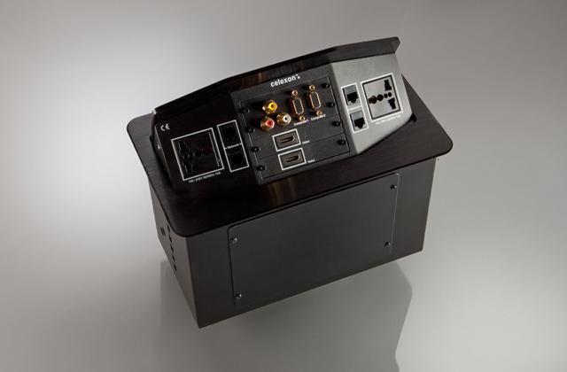 celexon Expert Tischanschlussfeld TA-300B INT schwarz INT