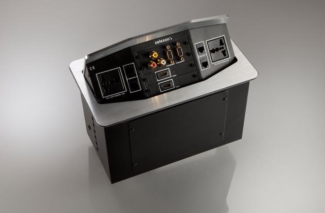 celexon Expert Tischanschlussfeld TA-300S INT silber INT