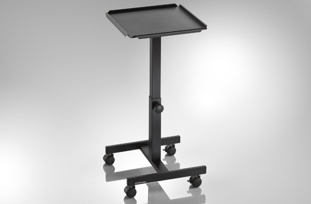 Celexon PT1010B - 60cm to 90cm - Adjustable Projector Trolley - Black