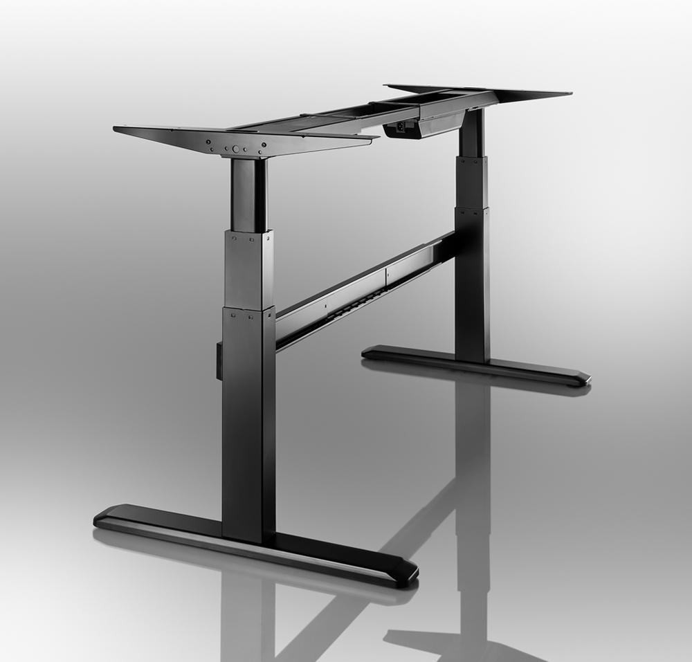 celexon bureau reglage en hauteur motorise celexon pro eadjust 65120b noi noir. Black Bedroom Furniture Sets. Home Design Ideas